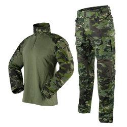 Haute qualité en polyester/coton vert tactique militaire uniformes pour la police et armée/militaire