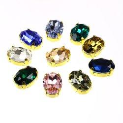宝石類のアクセサリのための水晶楕円形の豪華なOpalカラー石