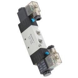 """Xhnotion AC24V 5way 2 gesteuerter verantwortlicher Typ Doppelt-elektrisches Steuerpneumatisches Magnetspule-Druckluftventil, Spulen-Ventil 4V320-10 der Positions-G3/8 """" innerlich"""