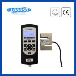 짐 힘 측정기 디지털 휴대용 손 동력계를 밀고 당기십시오
