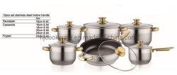 سعر جيد 12PCS أدوات الطهي الكلاسيكية من الفولاذ المقاوم للصدأ أدوات المطبخ طبخ طبخ طبخ طبخ طبخ طبخ طبخ طبخ طبخ طبخ طبخ طبخ طبخ مجموعات الوعاء