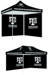 Custom торговли показать рекламу складная палатка печатной платы с цифровой печати настройка логотип