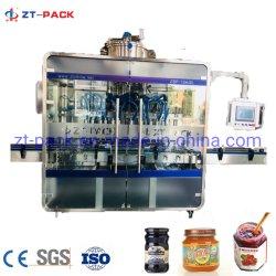 Automatische Nahrungsmittelstandard-Stau-Pasten-Verpackungsmaschine-hohe zähflüssige Flüssigkeit