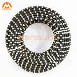 Diamant-Draht für Marmorgranit-Steinbruch-verstärkter Beton-Stahlausschnitt