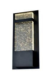 زجاج خاص 12 واط، ضوء حائط LED أسود (W4056L)
