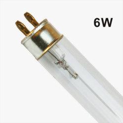 China T5 6W Professional Boron Air Disinfection Double-Ended UltraViolet UVC ランプ / 殺菌 UV 光 / UV 滅菌剤 / UV 管、浄水器用細菌を殺す