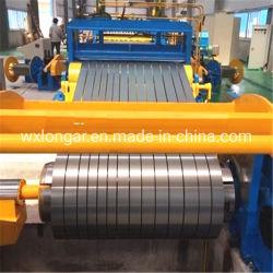 Bobina de aço de rebobinar e máquina de corte
