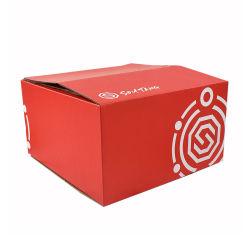 卸し売りカスタム大きい高品質の印刷カラージッパーの段ボールパッキング輸送の出荷のクラフトのカートンボックス