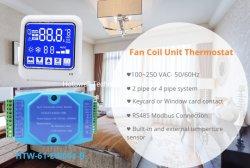 Hotel salle de commande de température du thermostat