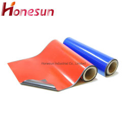 Strati magnetici magnetici di carta magnetici variopinti del magnete di gomma del rullo dello strato dei magneti su ordinazione con il magnete adesivo del frigorifero del PVC