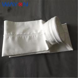 Sistema de limpeza de Ar Industrial Nonwoven sentiu perfurado de agulha de PTFE de coletores de pó do filtro evacuador de fumo