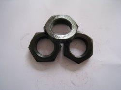 L'acier au carbone HDG/contre-écrou hexagonal noir écrous DIN439/DIN936