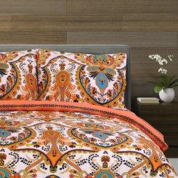 罰金は100%年の綿300tcの反応印刷された寝具セットをとかした