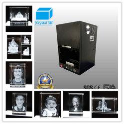 3D水晶彫版のギフトのための表面下のレーザーの彫版機械Clm801ab2