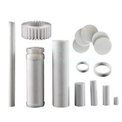 فلتر قرص مسحوق PP PTFE مصنوع من البولي إيثيلين الأصلي أنبوب للاستخدام في صناعة المواد الكيميائية لغاز النفط الطبي