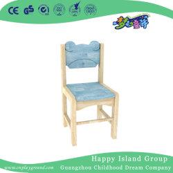 Scuola materna sedia in legno a forma di orso personalizzata con colore (HJ-3907)