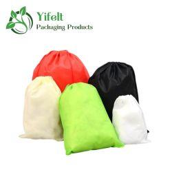 卸売の安い折りたたみ式のひもの Non-Woven の洗面用品 Pcakaging 袋
