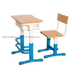 Estudio de los niños de bambú ajustable de la Escuela de escritorio escritorio y silla