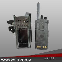 Estojo de couro de rádio de duas vias para XRP7550/P8668 Estojo Walkie Talkie BOLSA PORTA-BAG