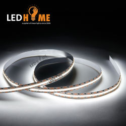 مصابيح LED فائقة الكثافة 720LED/M أشرطة CCT مقاس 10 مم عرض لوحة PCB مرنة إضاءة شريط LED