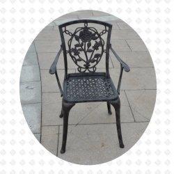 Литой алюминиевый стул для использования вне помещений кресло Председателя в Саду Роз Kd Председателя