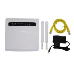 Punto de conexión inalámbrica 4G LTE de 2,4 Ghz 300MB router WiFi antena externa dual con ranura para tarjetas SIM