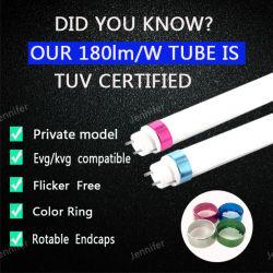 Usine de ventes directes de T8 Tube lampe LED 100-180FPM pour l'option