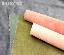 Home tessile velluto morbido tessuto rivestimento poliestere tessuto tessile per Mobili divano panno - adorare