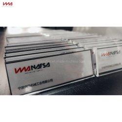 Kundenspezifischer Art-einfaches Gebrauch-Neodym-magnetischer Namensabzeichen-Halter für Verkauf