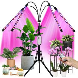 LED는 빛 4 LED가 가벼운 지구 온실을 증가하는 실내를 위해 조정가능한 램프 정원 성장 표시등 막대를 증가하는 맨 위 60W/80W/100W 가벼운 Dimmable 가득 차있는 스펙트럼 플랜트를 증가한다