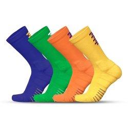 De in het groot van het Katoenen niet van de Misstap van de Sokken van de Greep van Sporten Witte droog-Geschikte Sok van de Compressie van de Manier Basketbal van Mensen met Terry