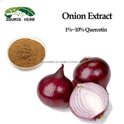 استخراج النبات طبيعي عالي الجودة Allium CEPA استخراج مسحوق / مقتطف البصل