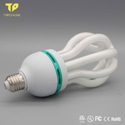 De Energie van de tri-Fosfoor van het Halogeen CFL van de Vorm 75With85W van de Bloem van Lotus - de Bol van de Lamp van de besparing