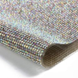 Hot Fix Rhinstone Iron On Sheet Garment Accessoires Factroy