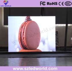 HD2.5フルカラーLEDのレンタル屋内表示画面のビデオ