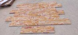 Cultura La piedra arenisca de Rainbow/Chapas cara Split de pared de pizarra/revestimiento de azulejos de la fachada