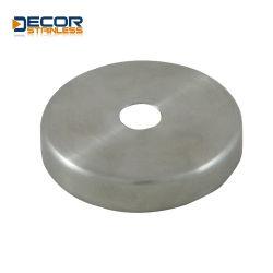 El tubo de barandilla de acero inoxidable cubierta redonda