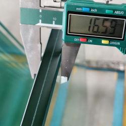 Как сократить шумоизоляция PVB слоистого стекла панели