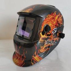 2021 Nueva llegada Professional 3 pantallas LCD Color Verdadero casco de soldar Solar mayor visualización automática de la máscara de soldadura