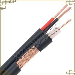 Coaxiale RG59-kabel met voedingskabel voor CCTV-kabel