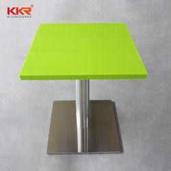 Surface solide Restaurant Table et chaises de salle à manger