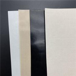 قماش PTFE مصقول مغطلاً بالفيبر لمقاومة درجة حرارة السطح الأملس