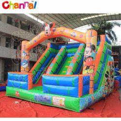 2020 Nuevo diseño de Mickey & Minnie castillo inflable saltando Deslice Chsl316-3