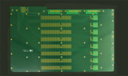 mehrschichtige Motherboard-Leiterplatte Schaltkarte-32layer für Halbleiter-Industrie