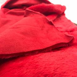 衣服のためのポリエステルによって編まれるスエードファブリック担保付きのベルベルの羊毛