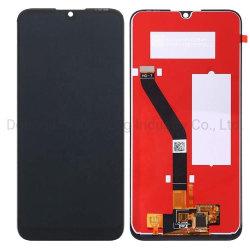 اللوحات الأصلية لشاشة عرض شاشة اللمس LCD من Huawei Y6 2019 جزء استبدال مجموعة الهاتف الخلوي