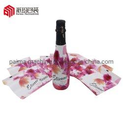 Bouchon de bouteille en PVC le cou et les étiquettes de manchon thermorétractable