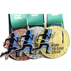 Настраиваемые производит эмаль Sport 5K выполните никель призы и награды медали
