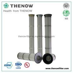 Замена фильтра гофрированный картридж воздуха фильтры в цементного завода