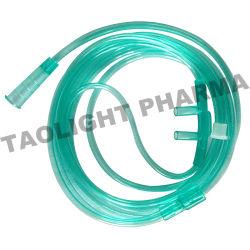 Одноразовые медицинские стерильные назальной кислородного трубки для взрослых назальной